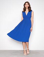 Selected Femme Mørk blå Sfsvenja Sl Pleated Dress