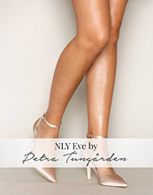 NLY Shoes Champagne Strap Heel Pump