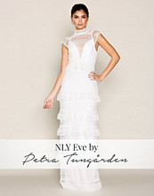 NLY Eve Hvit Heavy Lace Gown