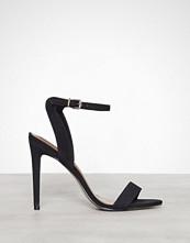 Steve Madden Black Landen High Heel Sandal