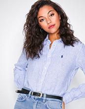 Polo Ralph Lauren Blue Ls Rx Anw St-Relaxed-Long Sleeve-Shirt