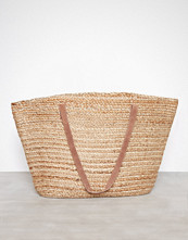 Pieces Natural Pcgracia Straw Shopper