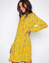 Pieces Lys gul Pcvibe Ls Dress D2D