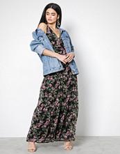 Vero Moda Svart Vmkay Sl Maxi Dress
