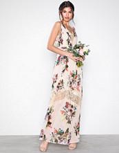 Little Mistress Multi Floral Maxi Dress