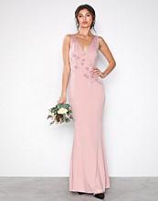 Little Mistress Rose Rose Maxi Dress