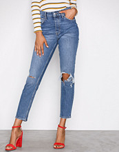Gina Tricot Mid Blue Sienna High Waist Jeans