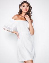 Little Mistress White Lace Mini Dress