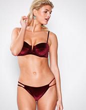 South Beach Bordeaux Velvet Bikini Brief