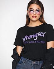 Wrangler Black Old Wave Tee