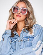 NLY Accessories Rosa Diamond Sunglasses