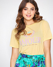River Island Amour Paris Fitted Tee