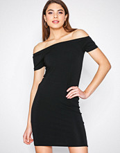 Only Svart onlLIVE Love Ss Off Shoulder Dress