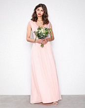 NLY Eve Lys rosa Cap Sleeve Lace Gown