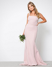 NLY Eve Dusty Rose Square Neck Mermaid Gown