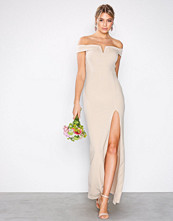 Ax Paris Blush Bardot Maxi Dress
