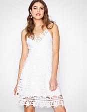 Vila Hvit Viclarna Strap Dress