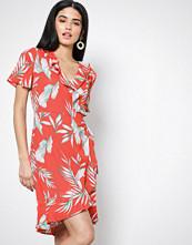 Vero Moda Rød Vmmaharete Ss Short Wrap Dress