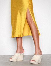 NLY Shoes Offwhite Canvas Rope Mule