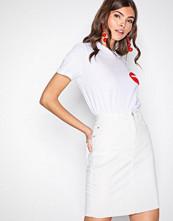 Vero Moda Hvit Vmhot Nine Hw Pencil Skirt