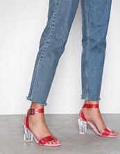 NLY Shoes Rosa Plastic Heel Sandal