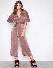 NLY Trend Rose Kimono Culotte Jumpsuit