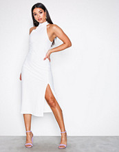 Motel Ivory Freja Midi Dress