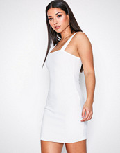 Motel Ivory Farlie Midi Dress