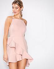 River Island Pink SL Bodycon Dress