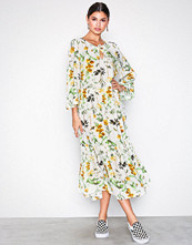 Object Collectors Item Offwhite Objfloressa 3/4 Boho Dress a Sp