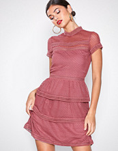 Neo Noir Dusty Rose Veronica Dress