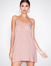 Motel Pink Medina Polka Dress
