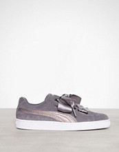 Puma Smoked Pearl Suede Heart Lunalux