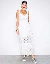 Free People White Caught Your Eye Maxi