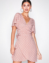 Motel Pink Rawa Polka Dress