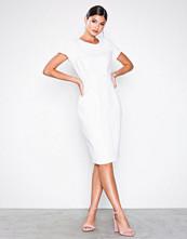 Closet White Paneled Pencil Dress