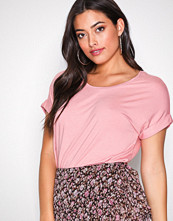 Only Lys rosa onlMOSTER S/S O-Neck Top Noos Jrs