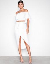 NLY One Wrap Over Skirt Hvit