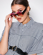 NLY Accessories Flerfarget Candy Striped Sunglasses