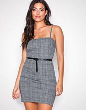 Motel Check Pattern Cecile Dress