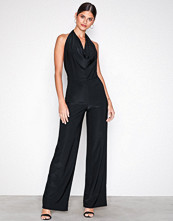 NLY One Svart Double Layer Jumpsuit