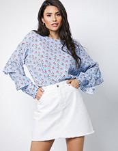NORR White Denim New Lucia short skirt