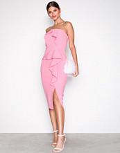 River Island Bright Pink SL Zaphira Dress