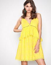 By Malina Lemon Annie maxi dress