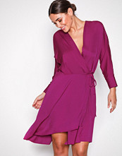Filippa K Orchid Slinky Wrap Dress