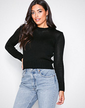 Polo Ralph Lauren Black Cropped Sweater