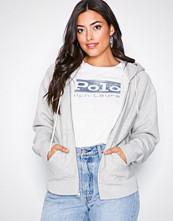 Polo Ralph Lauren Ls Fz Hoodie-Long Sleeve-Knit Grey