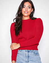 Polo Ralph Lauren Red Cropped Sweater