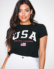 Polo Ralph Lauren Black USA Tee