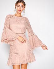 By Malina Dusty Pink Ettie dress